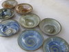 pottery saucers tableware